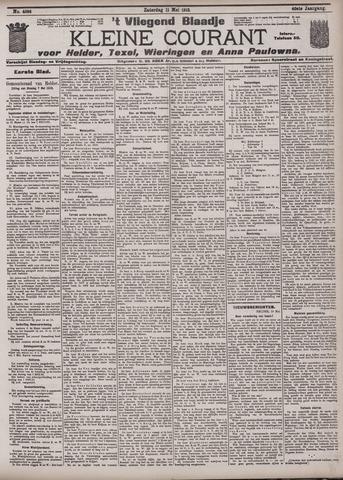 Vliegend blaadje : nieuws- en advertentiebode voor Den Helder 1912-05-11