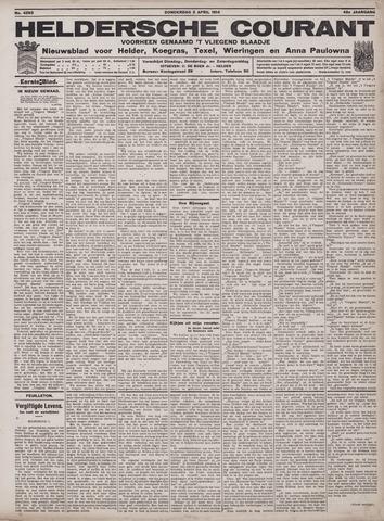 Heldersche Courant 1914