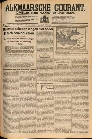 Alkmaarsche Courant 1939-10-21
