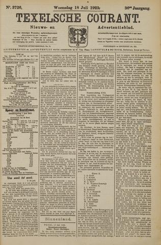 Texelsche Courant 1923-07-18