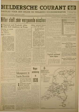 Heldersche Courant 1938-09-26
