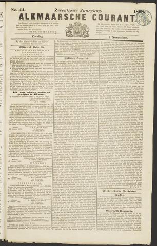 Alkmaarsche Courant 1868-11-01