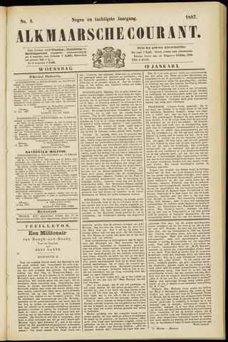 Alkmaarsche Courant 1887-01-19