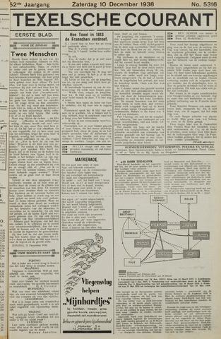 Texelsche Courant 1938-12-10