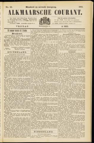 Alkmaarsche Courant 1905-05-12
