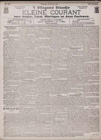 Vliegend blaadje : nieuws- en advertentiebode voor Den Helder 1904-01-20