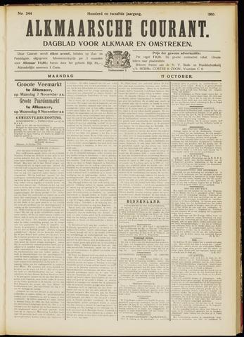 Alkmaarsche Courant 1910-10-17