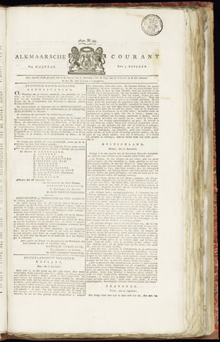 Alkmaarsche Courant 1827-10-01