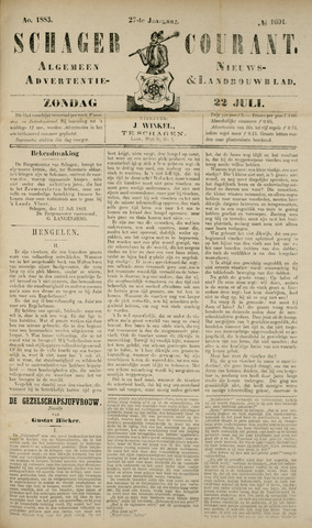 Schager Courant 1883-07-22
