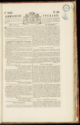 Alkmaarsche Courant 1847-09-27