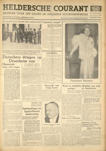 Heldersche Courant 1940-04-30