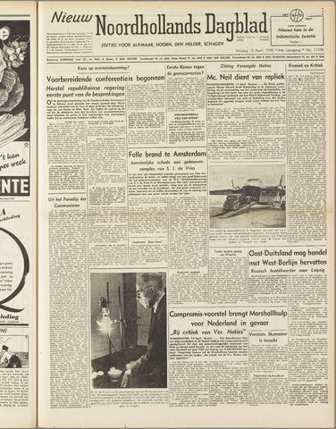 Nieuw Noordhollandsch Dagblad : voor Alkmaar en omgeving 1949-04-15