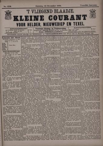 Vliegend blaadje : nieuws- en advertentiebode voor Den Helder 1884-12-13