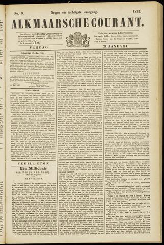 Alkmaarsche Courant 1887-01-21