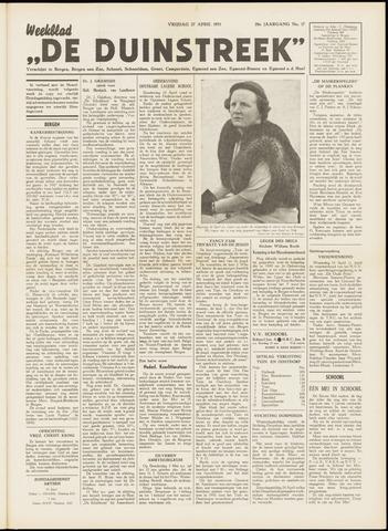 De Duinstreek 1951-04-27