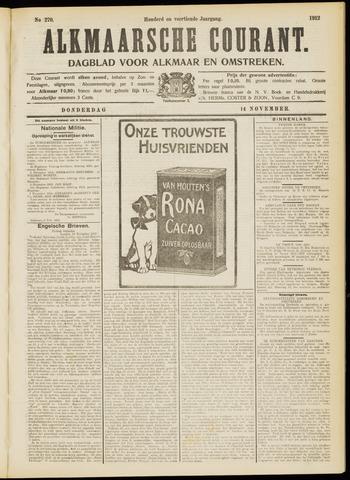 Alkmaarsche Courant 1912-11-14