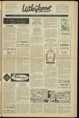 Uitkijkpost : nieuwsblad voor Heiloo e.o. 1962-04-19