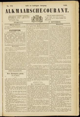 Alkmaarsche Courant 1886-09-17