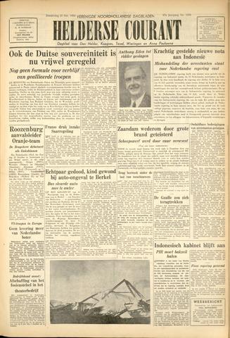 Heldersche Courant 1954-10-21