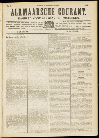 Alkmaarsche Courant 1912-10-26