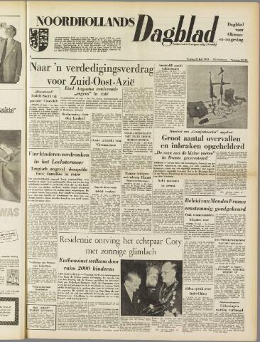 Noordhollands Dagblad : dagblad voor Alkmaar en omgeving 1954-07-23