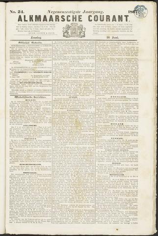 Alkmaarsche Courant 1867-06-16