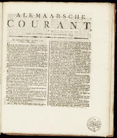 Alkmaarsche Courant 1816-12-09