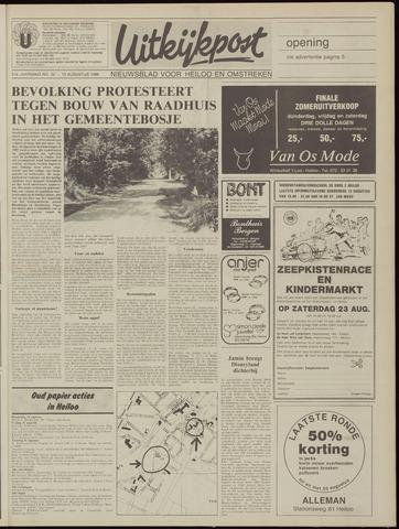Uitkijkpost : nieuwsblad voor Heiloo e.o. 1986-08-13
