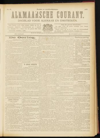 Alkmaarsche Courant 1917-02-20