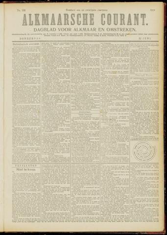 Alkmaarsche Courant 1919-06-12