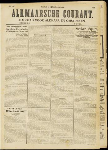 Alkmaarsche Courant 1913-07-01