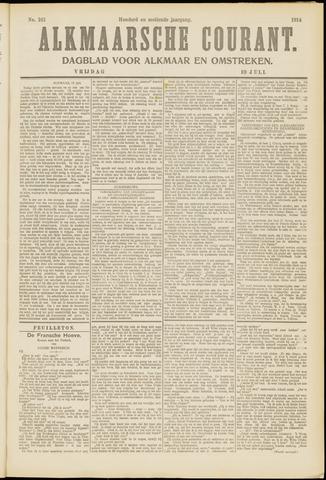Alkmaarsche Courant 1914-07-10