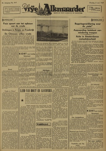 De Vrije Alkmaarder 1947-06-03