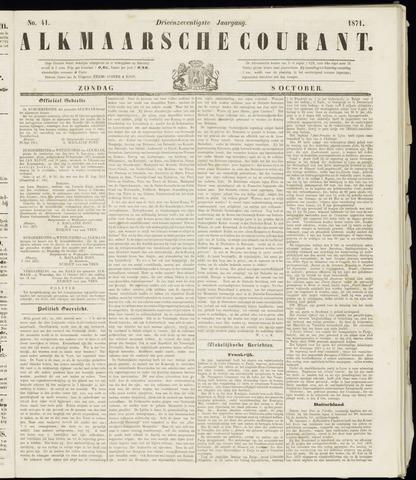 Alkmaarsche Courant 1871-10-08