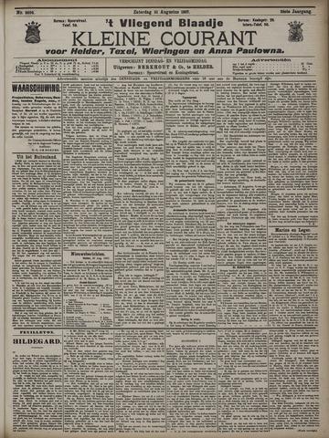Vliegend blaadje : nieuws- en advertentiebode voor Den Helder 1907-08-31