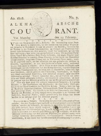Alkmaarsche Courant 1808-02-15
