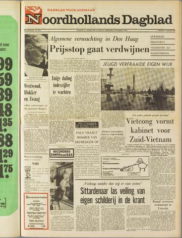 Noordhollands Dagblad : dagblad voor Alkmaar en omgeving 1969-08-08
