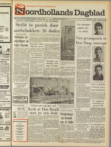 Noordhollands Dagblad : dagblad voor Alkmaar en omgeving 1968-01-15