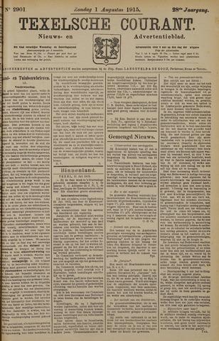 Texelsche Courant 1915-08-01