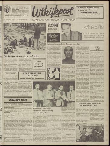 Uitkijkpost : nieuwsblad voor Heiloo e.o. 1985-10-30