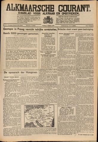 Alkmaarsche Courant 1939-03-17