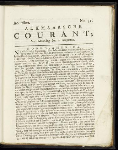 Alkmaarsche Courant 1802-08-02