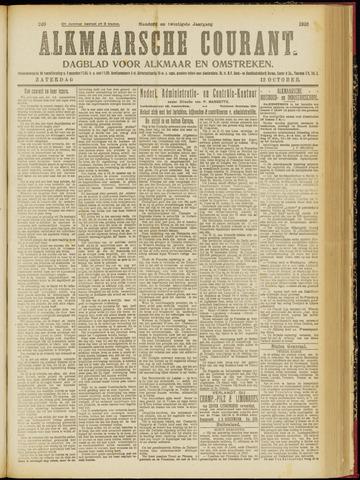 Alkmaarsche Courant 1918-10-12