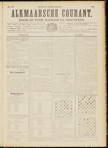 Alkmaarsche Courant 1910-06-24
