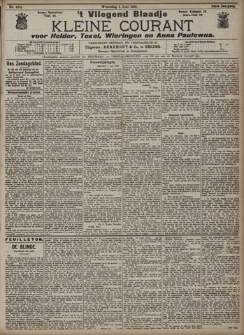Vliegend blaadje : nieuws- en advertentiebode voor Den Helder 1906-06-06