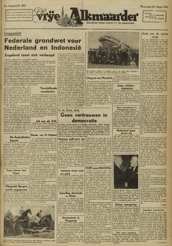 De Vrije Alkmaarder 1947-03-26