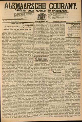 Alkmaarsche Courant 1934-04-28
