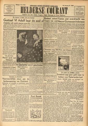 Heldersche Courant 1950-10-31
