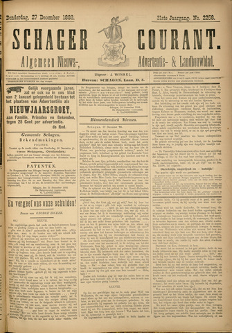 Schager Courant 1888-12-27
