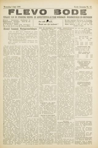 Flevo-bode: nieuwsblad voor Wieringen-Wieringermeer 1946-06-05